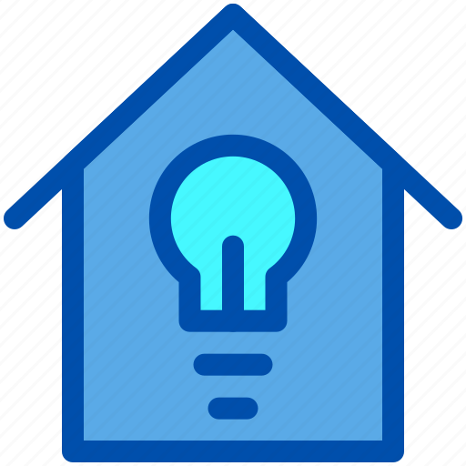 Energy, home, house, lamp, smart icon - Download on Iconfinder