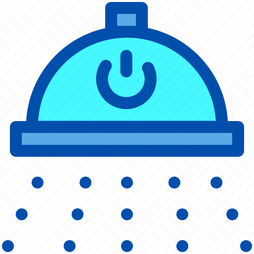 Bathroom, clean, house, shower, smart, water icon - Download on Iconfinder