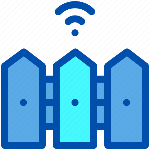 Automatic, fence, garden, gate, house, smart icon - Download on Iconfinder