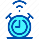 alarm, clock, house, smart, time icon