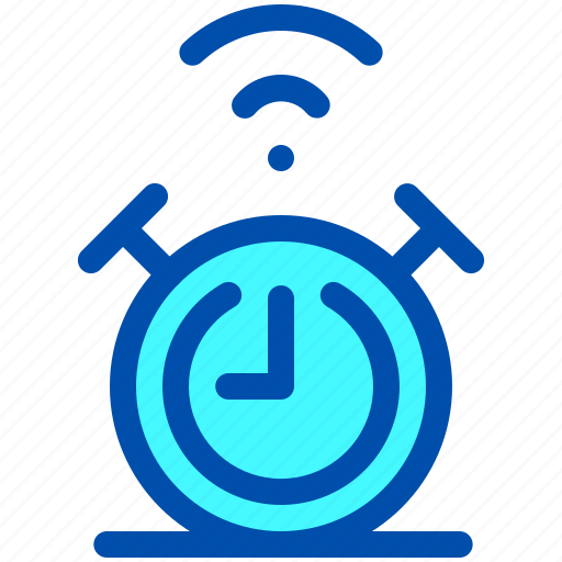 Alarm, clock, house, smart, time icon - Download on Iconfinder