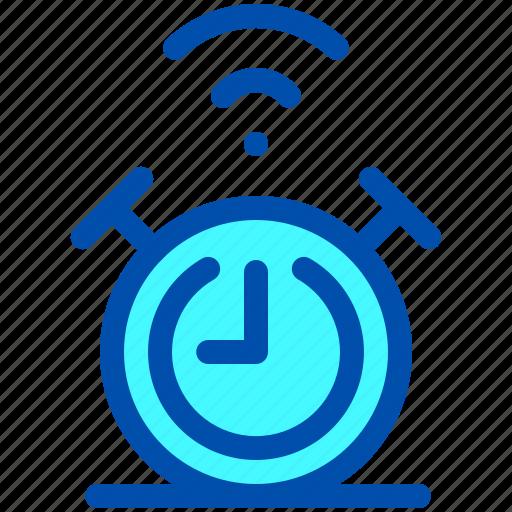 alarm, clock, house, smart, time icon