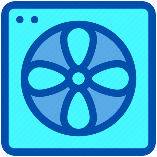 Air, conditioner, fan, house, smart icon - Download on Iconfinder