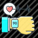 fitness, smart, smart watch, technology, tracker icon