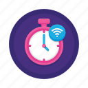 smart, timer icon