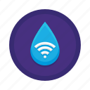 smart, water icon
