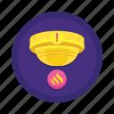 sensor, smoke icon