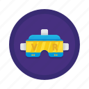 technology, vr icon