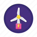 energy, wind icon