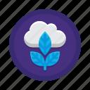 emission, zero icon