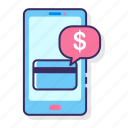 app, card, digital, mobile, online, payment icon