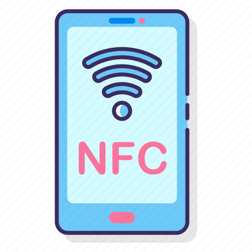 data, nfc, technology, transfer icon