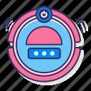 cleaner, robot, roomba, smart, vacuum icon