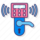 lock, security, smart, system, wireless icon