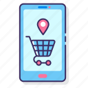 app, ecommerce, mobile, retail, shopping, smart icon