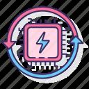 circuit, data, hradware, processor, transfer, virtual