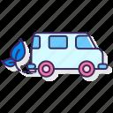 eco, emission, exhaust, friendly, hybrid, zero icon