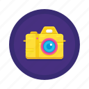 camera, digital camera, dslr, photography icon