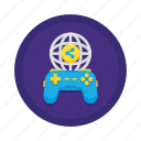 game controller, gamepad, gameplay, gameplay sharing, online game, ps4 icon