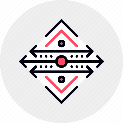 arrows, direction, fast, lanes, orientation, slow, system icon