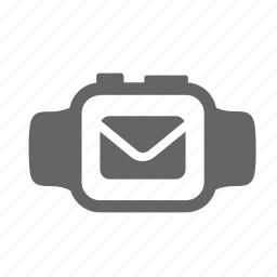 correspondence, data, letter, mail, message, screen, text icon