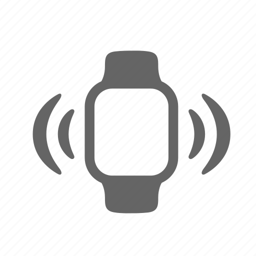 call, mobility, ring, signal, smartwatch, technology, wave icon