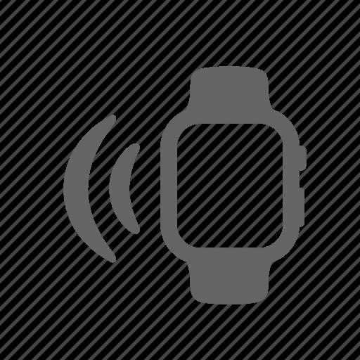 internet, portable, signal, smartwatch, technology, wave, wireless icon