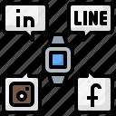 internet, media, network, smart, social, technology