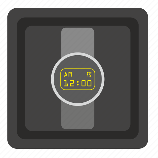box, clock, present, smart, time, watches icon