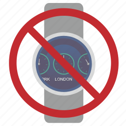 cancel, clocks, smart, time, watches icon
