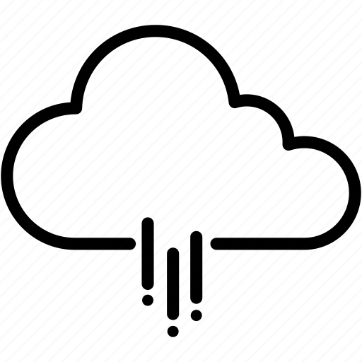 cloud, clouds, cloudy, forecast, rain, raining, weather icon