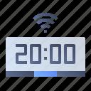 alarm, clock, smart, time, watch icon