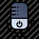 audio, mic, microphone, recording, smarthome icon