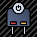 charge, connector, plug, power plug icon