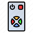 console, controller, device, remote icon