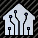 automation, future technology, smart room, smarthome icon