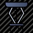 extinguisher, fire, safety, sprinkler icon