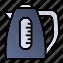 kettle, teapot, water boiler, water heater icon
