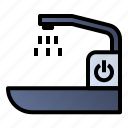 faucet, sink, wash, water icon