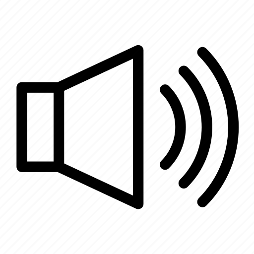 audio, music, smarthphone, sound, speaker, volume icon