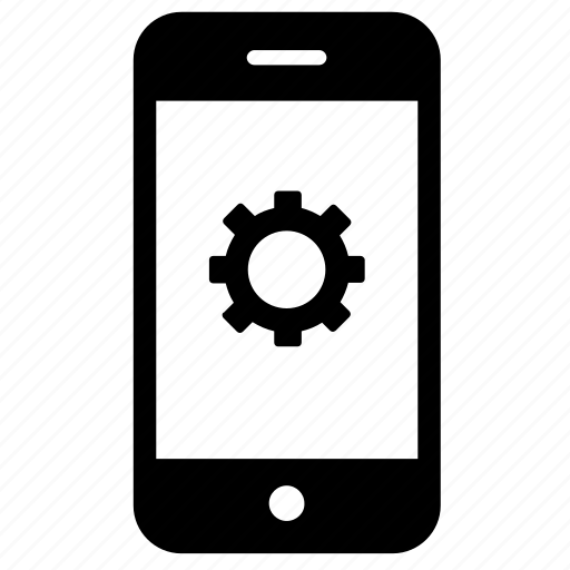 development, management, mobile settings, optimization, settings, smartphone icon
