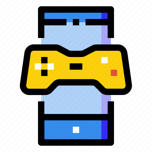 game, mobile, phone, player, screen, smartphone icon