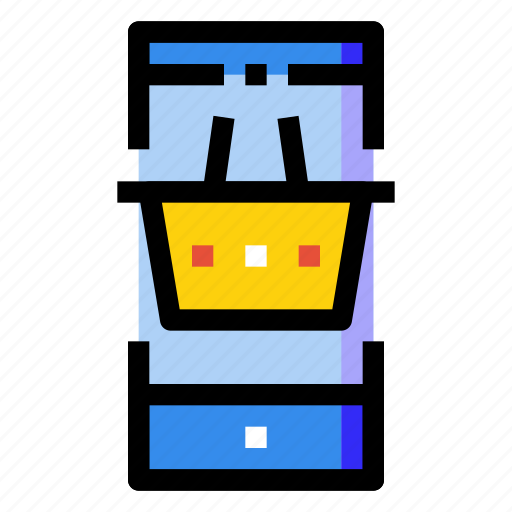 mobile, online, phone, retail, screen, shopping, smartphone icon
