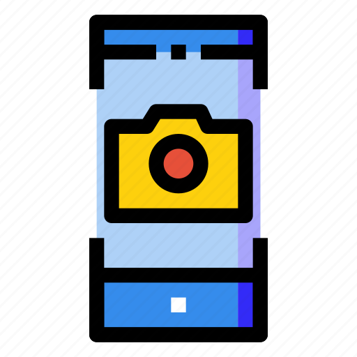Camera, mobile, phone, photo, screen, smartphone icon - Download on Iconfinder