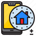 home, house, mobile, mobilephone, smartphone icon
