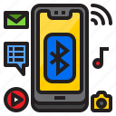 mobilephone, multimedia, smartphone, mobile icon