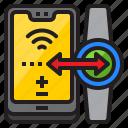 data, mobile, mobilephone, smartphone, transfer, watch