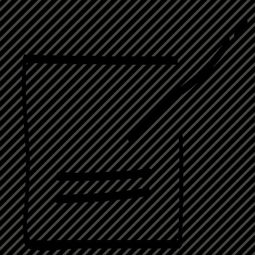 write, write a message, writing icon