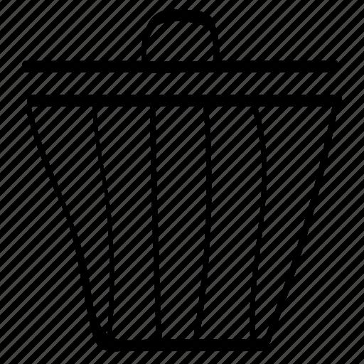 delete, deleted, throw away icon
