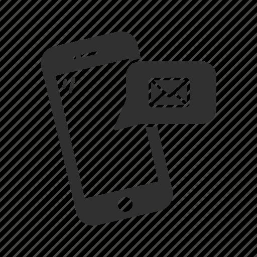 inbox, iphone, message, phone icon